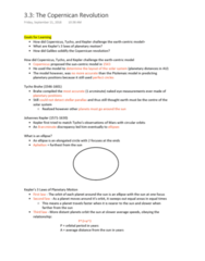 NATS 1740 Lecture 11: The Copernican Revolution 3.3