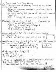 MATH-M 118 Lecture 1: M118 - Lecture 1.1 Sets and Set Operations