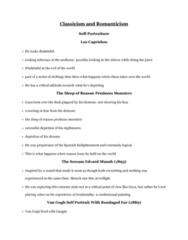 ARTH 2620 Lecture Notes - Lecture 2: Los Caprichos, Paul Gauguin, Enlightenment In Spain