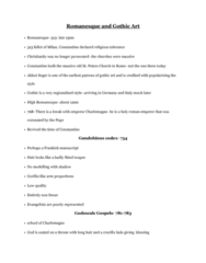 ARTH 2541 Lecture Notes - Lecture 1: Suger, Godescalc Of Benevento, Icicle