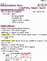 PSYC 102 Lecture 5: A Unifying Theory Cont'd Pt2