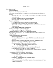 BIO205H5 Lecture Notes - Lecture 3: Common Kestrel, Semelparity And Iteroparity