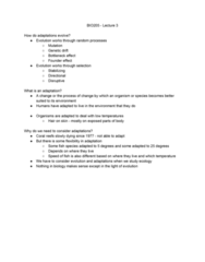 BIO205H5 Lecture Notes - Lecture 2: Genetic Drift, Mutation