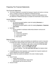 AFM101 Lecture Notes - Lecture 6: Current Liability, Balance Sheet, Retained Earnings
