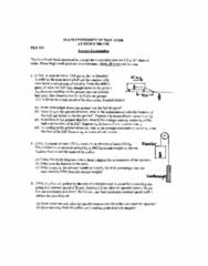 PHY 125 Quiz: PHY125_Exam1_2014Spring