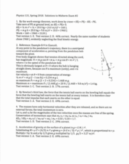 PHY 131 Midterm: PHY131 Midterm 2a 2018 Spring
