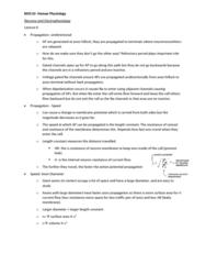 BIOC32H3 Lecture Notes - Lecture 6: Axon Hillock, Axon Terminal, Electrophysiology