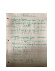 MATH 1104 Lecture 7: Adjoint Matrices