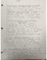 BIOL 180 Chapter Bio Skills (Ch.1): Lecture 3 Homework; Bioskills (2/3)