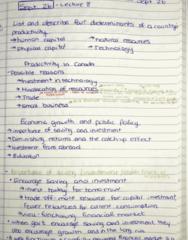 ECON 203 Lecture 8: Principles of Macroeconomics