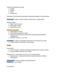 BIOC 100A Lecture Notes - Lecture 2: Louis Pasteur, Stereoisomerism, Isomerization
