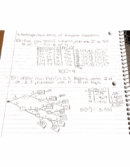 MATH-M 118 Lecture 20: 4.3b Expected Values of Random Variables