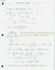 MATH 1004 Lecture 9: MATH 1004 Lecture 9 Notes. Oct 3, 2018