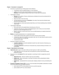 ECO100Y5 Lecture Notes - Lecture 1: Absolute Advantage, Comparative Advantage, Opportunity Cost