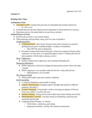 PSYC 208 Lecture Notes - Lecture 4: Neuroticism, Extraversion And Introversion, Narrative Therapy