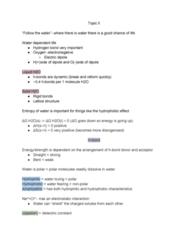 BIOC 100A Lecture Notes - Lecture 4: Benzene, Micelle, Membrane Lipids