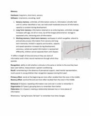 Psychology 1000 Study Guide - Cognitive Inhibition, Problem Solving, Delayed Gratification