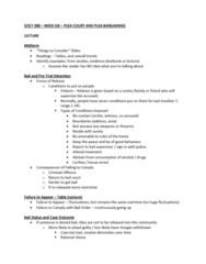 SOCY 388 Lecture Notes - Lecture 6: Lesser Included Offense, Dangerous Offender, Adversarial System