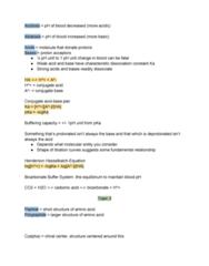 BIOC 100A Lecture Notes - Lecture 5: Conjugate Acid, Alkalosis, Acid Strength