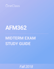 AFM362 Study Guide - Winter 2018, Comprehensive Midterm Notes - Canada, Capital Gain, Dividend