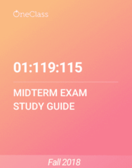 01:119:115 Study Guide - Fall 2018, Comprehensive Midterm Notes - Page 3, Zygosity, Xyy Syndrome