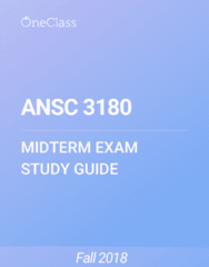 ANSC 3180 Study Guide - Winter 2018, Comprehensive Midterm Notes - Fat, Deer, Thermoregulation