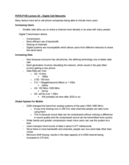 PHYS-P 150 Lecture Notes - Lecture 24: 2G, Time-Sharing, 5G