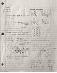 MGEA01H3 Lecture 1: MGEAO1 Lecture notes 1and 2