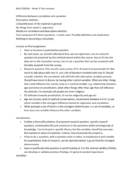 MULT30018 Lecture Notes - Lecture 4: Contingency Table, Statistical Significance, Statistical Literacy