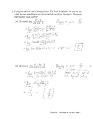 MATH 31A Final: Math 31A Final Exam 2016 Fall Solutions