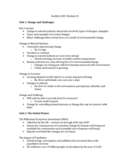 ENVIRSC 2EI3 Lecture Notes - Lecture 1: Demographic Transition, Tuberculosis, Ecocentrism