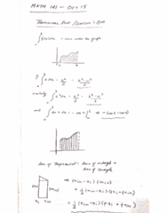 MATH 141 Lecture 22: MATH 141 - Lecture 22 - OCT 15