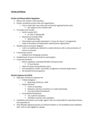 GOVN 444 Lecture Notes - Lecture 2: Disconnection, Scale-Invariant Feature Transform, Sample Size Determination