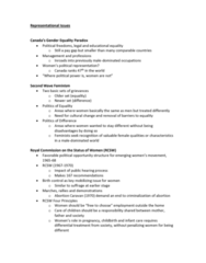 GOVN 444 Lecture Notes - Lecture 5: Party System, Young Canadians, Role Theory