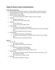 CHEM-C 101 Lecture Notes - Lecture 26: Salt Metathesis Reaction, Oxidizing Agent, Galvanic Cell