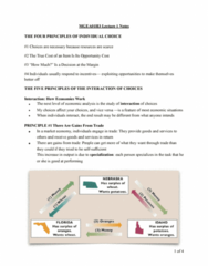 MGEA01H3 Lecture Notes - Lecture 1: Opportunity Cost, Market Failure, Cash Register
