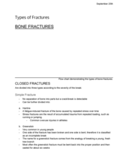 ANA300Y1 Lecture Notes - Lecture 6: Greenstick Fracture, Flowchart