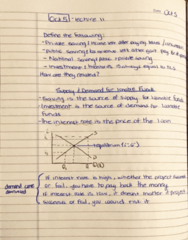 ECON 203 Lecture 11: Principles of Macroeconomics