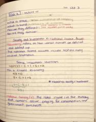 ECON 203 Lecture 10: Principles of Macroeconomics