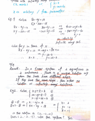 MATH-M 118 Lecture 27: Lecture-M118-System of three linear equations & Coefficient Matrix