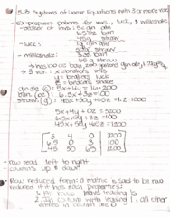 MATH-M 118 Lecture 27: 5.3a Formulation and Solution of Systems of Linear Equations in Three or More Variables