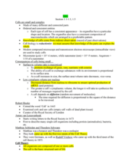 BIOL 2020 Final: Cell Bio Complete I-7 (Final Exam Notes)