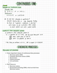 APPM 4530 Lecture Notes - Lecture 14: Norbert Wiener, Reflection Principle, Kolmogorov Continuity Theorem