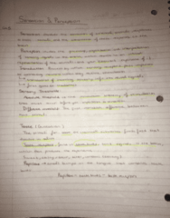 PSY100H1 Chapter Notes - Chapter 5: Ney, Retina Horizontal Cell, Absol