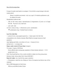 Political Science 1020E Study Guide - Quiz Guide: Antichrist, French Revolution, Fide