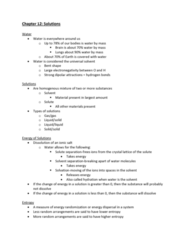 CHEM-C 101 Lecture Notes - Lecture 30: Electronegativity, Molar Concentration