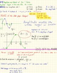 MA 105 Lecture 17: 4-3 Period Change