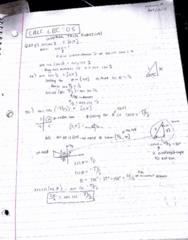 MATA30H3 Lecture 6: calc lec 6