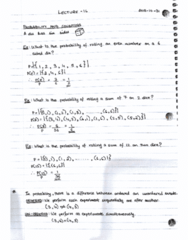 MAT133Y5 Lecture 16: Probability and Counting