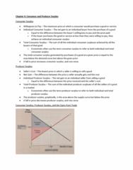 MGEA01H3 Lecture Notes - Lecture 3: Economic Surplus, Demand Curve, Externality